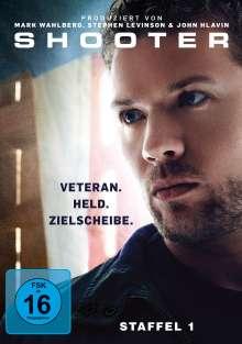 Shooter Staffel 1, 4 DVDs