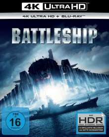 Battleship (Ultra HD Blu-ray & Blu-ray), Ultra HD Blu-ray