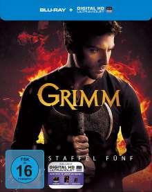 Grimm Staffel 5 (Blu-ray im Steelbook), 5 Blu-ray Discs