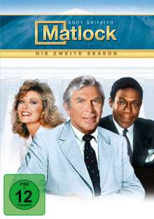 Matlock Season 2, 6 DVDs
