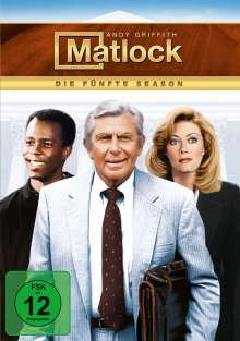 Matlock Season 5, 6 DVDs