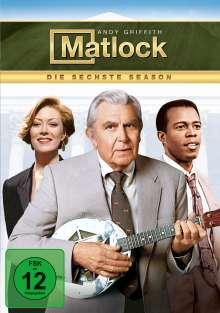 Matlock Season 6, 6 DVDs
