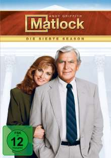 Matlock Season 7, 5 DVDs