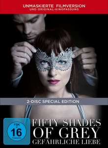 Fifty Shades of Grey 2 - Gefährliche Liebe (Limited Edition) (Digibook), 2 DVDs