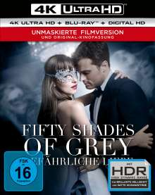 Fifty Shades of Grey 2 - Gefährliche Liebe (Ultra HD Blu-ray & Blu-ray), Ultra HD Blu-ray
