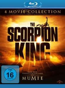 The Scorpion King 4-Movie-Collection (Blu-ray), 4 Blu-ray Discs