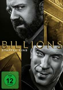 Billions Season 1, 6 DVDs
