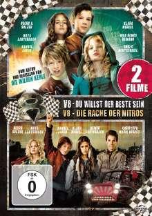 V8 - Du willst der Beste sein / V8 - Die Rache der Nitros, 2 DVDs