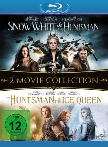 Snow White & the Huntsman / The Huntsman & The Ice Queen (Blu-ray), 2 Blu-ray Discs