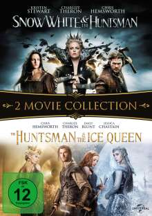 Snow White & the Huntsman / The Huntsman & The Ice Queen, 2 DVDs