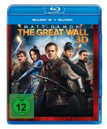 The Great Wall (3D & 2D Blu-ray), 2 Blu-ray Discs