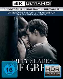 Fifty Shades of Grey (Ultra HD Blu-ray & Blu-ray), 2 Ultra HD Blu-rays