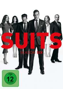 Suits Season 6, 4 DVDs