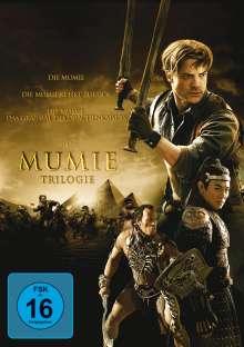 Die Mumie Trilogie, 3 DVDs