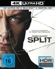 Split (Ultra HD Blu-ray & Blu-ray), 2 Ultra HD Blu-rays