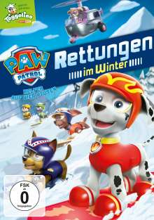 Paw Patrol Vol. 3: Rettungen im Winter, DVD