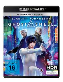 Ghost in the Shell (2017) (Ultra HD Blu-ray & Blu-ray), Ultra HD Blu-ray