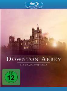 Downton Abbey (Komplette Serie) (Blu-ray), 22 Blu-ray Discs