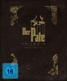 Der Pate Trilogie (Limited Omertà Edition) (Blu-ray), 4 Blu-ray Discs