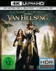 Van Helsing (Ultra HD Blu-ray & Blu-ray), 1 Ultra HD Blu-ray und 1 Blu-ray Disc