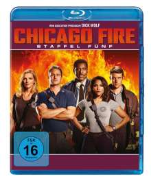 Chicago Fire Season 5 (Blu-ray), 6 Blu-ray Discs