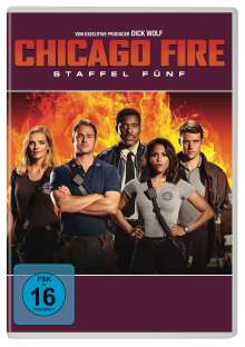 Chicago Fire Season 5, 6 DVDs