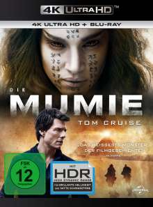 Die Mumie (2017) (Ultra HD Blu-ray & Blu-ray), Ultra HD Blu-ray