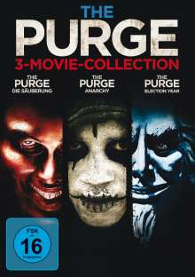 The Purge 3-Movie-Collection, 3 DVDs