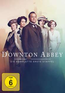 Downton Abbey Staffel 1 (neues Artwork), 3 DVDs