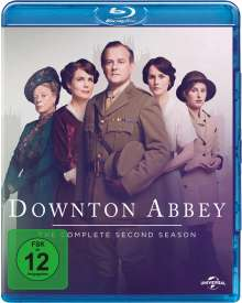 Downton Abbey Staffel 2 (neues Artwork) (Blu-ray), 4 Blu-ray Discs