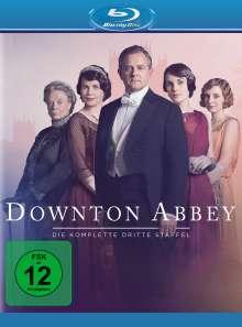Downton Abbey Staffel 3 (neues Artwork) (Blu-ray), 3 Blu-ray Discs