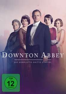 Downton Abbey Staffel 3 (neues Artwork), 4 DVDs