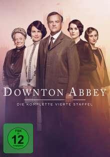 Downton Abbey Staffel 4 (neues Artwork), 4 DVDs