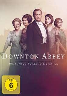 Downton Abbey Staffel 6 (finale Staffel) (neues Artwork), 4 DVDs