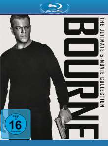 Bourne - The Ultimate 5-Movie Collection (Blu-ray), Blu-ray Disc