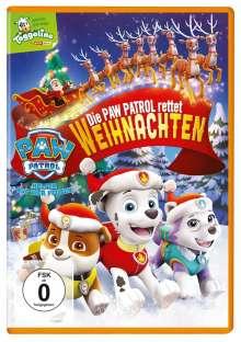 Paw Patrol: Die Paw Patrol rettet Weihnachten, DVD