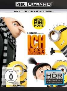 Ich - Einfach unverbesserlich 3 (Ultra HD Blu-ray & Blu-ray), 1 Ultra HD Blu-ray und 1 Blu-ray Disc