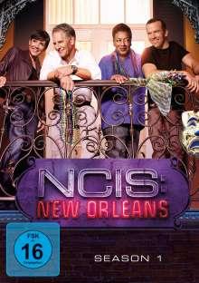 Navy CIS: New Orleans Staffel 1, 6 DVDs