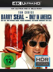 Barry Seal - Only in America (Ultra HD Blu-ray & Blu-ray), Ultra HD Blu-ray