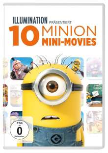 10 Minions Mini-Movies, DVD