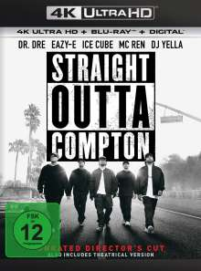 Straight Outta Compton (Director's Cut) (Ultra HD Blu-ray & Blu-ray), Ultra HD Blu-ray
