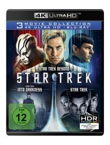 Star Trek: Three Movie Collection (Ultra HD Blu-ray & Blu-ray), 6 Ultra HD Blu-rays