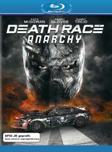 Death Race: Anarchy (Blu-ray), Blu-ray Disc