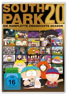 South Park Season 20, 2 DVDs