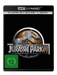 Jurassic Park 3 (Ultra HD Blu-ray & Blu-ray), 2 Ultra HD Blu-rays