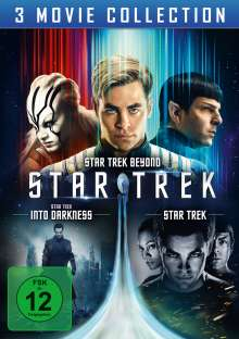 Star Trek - 3 Movie Collection, 3 DVDs