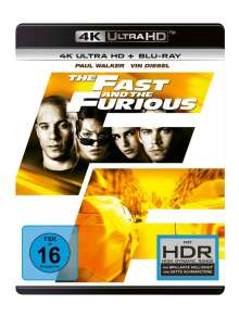 The Fast And The Furious (Ultra HD Blu-ray & Blu-ray), 1 Ultra HD Blu-ray und 1 Blu-ray Disc