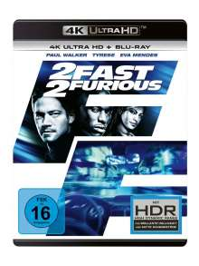 2 Fast 2 Furious (Ultra HD Blu-ray & Blu-ray), 2 Ultra HD Blu-rays