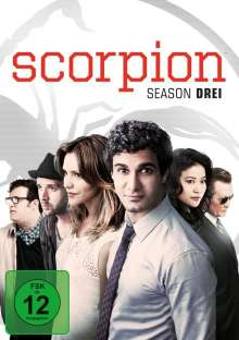 Scorpion Staffel 3, 6 DVDs