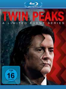 Twin Peaks Season 3 (A Limited Event Series) (Blu-ray), 8 Blu-ray Discs